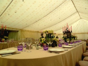 Table and chair hire Affinity Events in Johannesburg