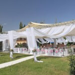 Tent for parties