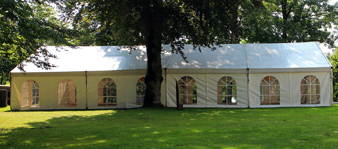 Choose Tent For Event in Garden